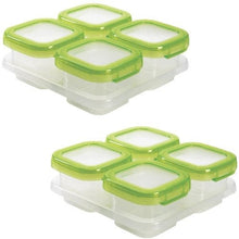 Load image into Gallery viewer, OXO Tot Baby Blocks 4oz Freezer Storage Containers