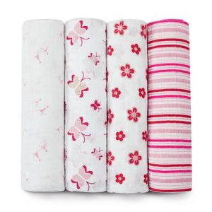 aden + anais 4-Pack Classic Muslin Swaddles