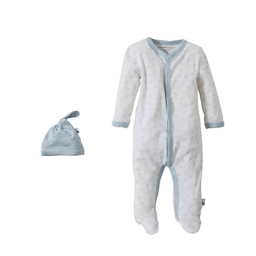Snuggle Basics Footed Onesie - Blue