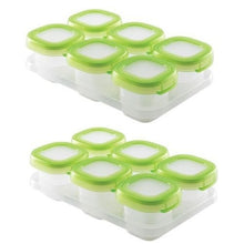 Load image into Gallery viewer, OXO Tot Baby Blocks 2oz Freezer Storage Containers