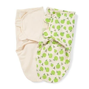 Summer Summer Infant SwaddleMe Organic  Adjustable Infant Wrap, 2 Pack