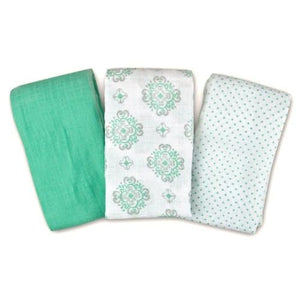 Summer Infant SwaddleMe Muslin Blanket, 3 Count