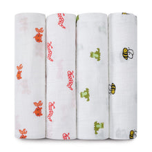 Load image into Gallery viewer, aden + anais 4-Pack Classic Muslin Swaddles