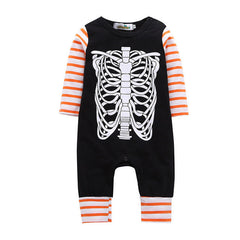 Fashion Skeleton Print Jumpsuit