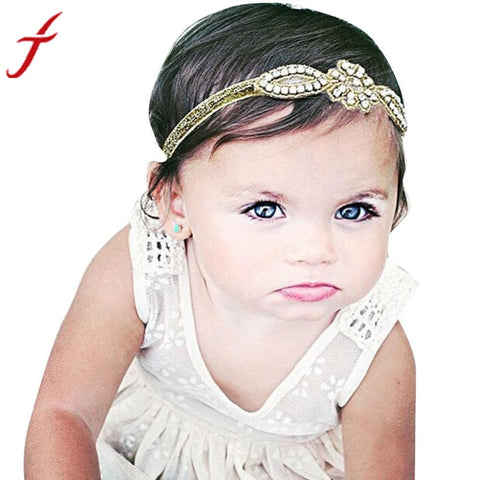 Baby Girl Hair band Crystal Rhinestone