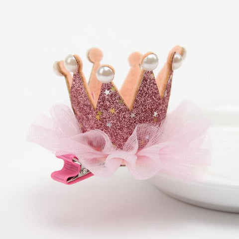 Girl Head Accessories Hairpin Baby Elastic Flower Crown Headwear