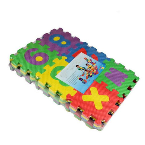 36 Pcs Number Alphabet Foam Toy