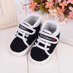 Baby Infant Kid Boy Girl Soft Sole Canvas Sneaker Toddler Shoes
