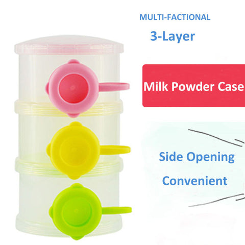 Stackable Milk Formula Dispenser