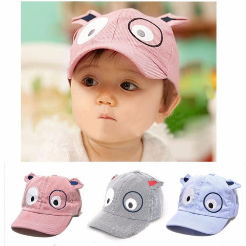 Kids Boys And Girls Cute Cartoon Dog Baseball Cap