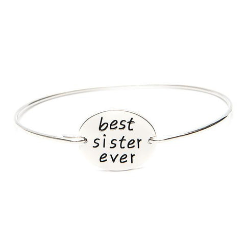 Best Sister Ever Bangle