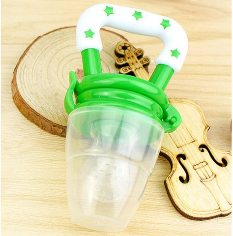 Silicone Fruit Pacifier Bottle