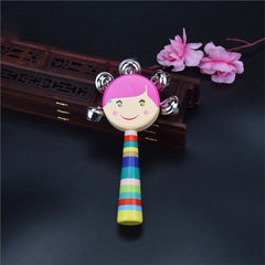 Wooden Rattle Musical Toy