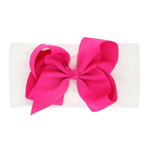 Newborn Toddler Baby Girls Bow Knot Turban Headband