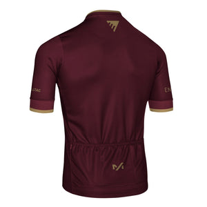 Enigma Classic Club Jersey - Burgundy Short Sleeve