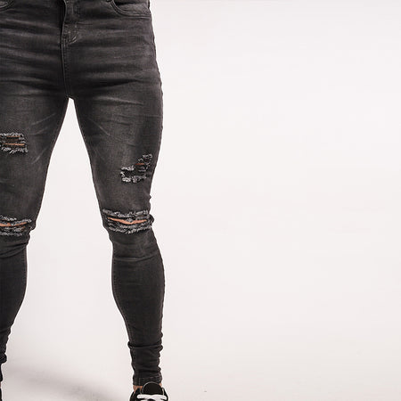AXEL 2.0 JEANS - GREY