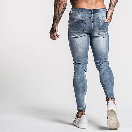 FINN JEANS - PALE BLUE FADED
