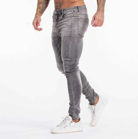 KEEGAN JEANS - GREY