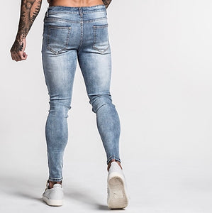 FINN 2.0 JEANS - PALE BLUE RIPPED