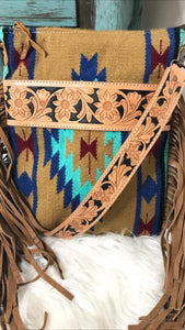 Saddle Blanket Fringe Purse