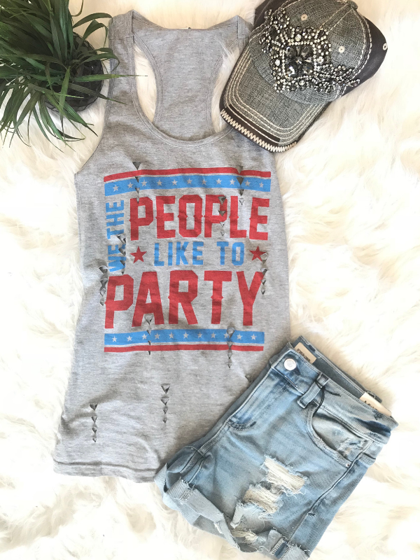 We The People Like To Party Tank