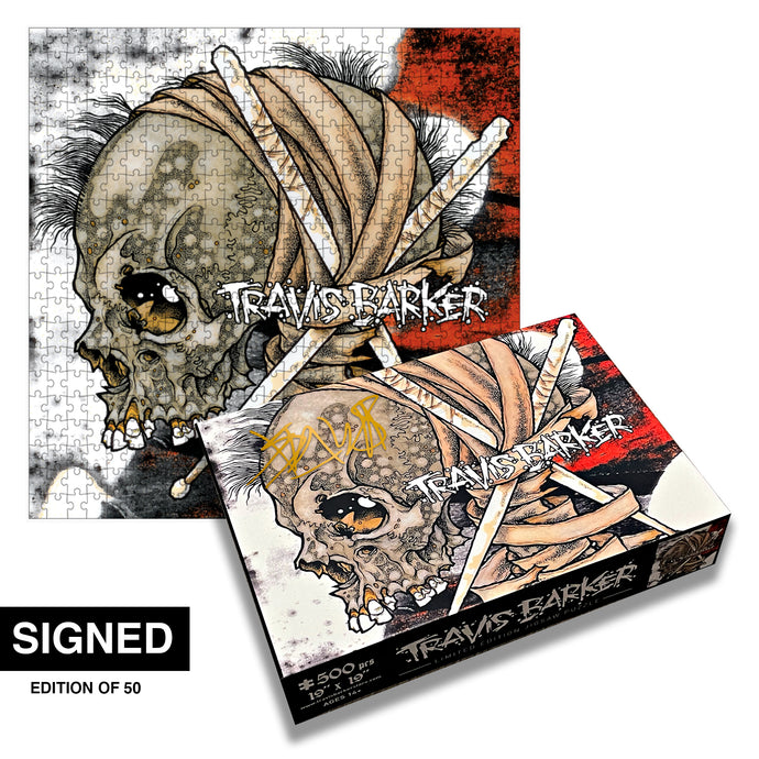 SIGNED Give The Drummer Some Jigsaw Puzzle