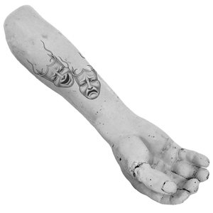 Sock & Buskin Temp Tattoo