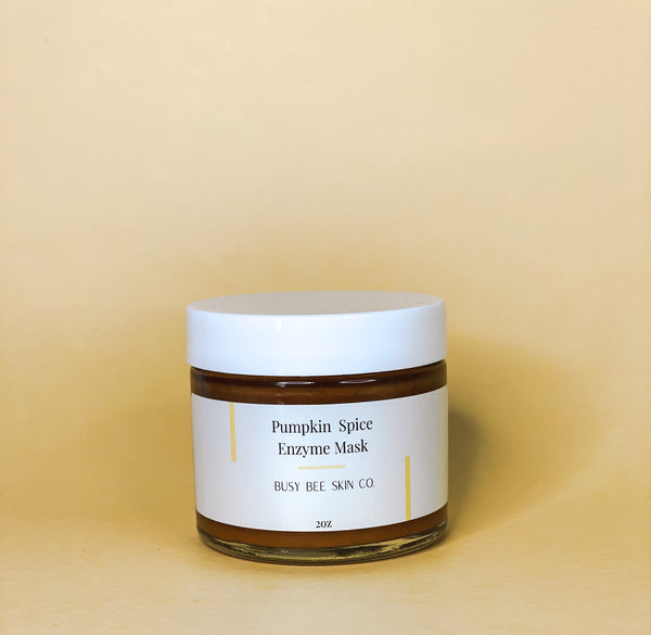 Pumpkin Spice Enzyme Mask