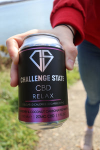 CBD RELAX DRINKS 20MG - 12 PACK for £37.40