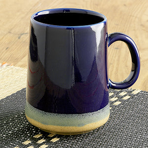 Tall Farmhouse Mug - Cobalt - Small Things Fair Trade