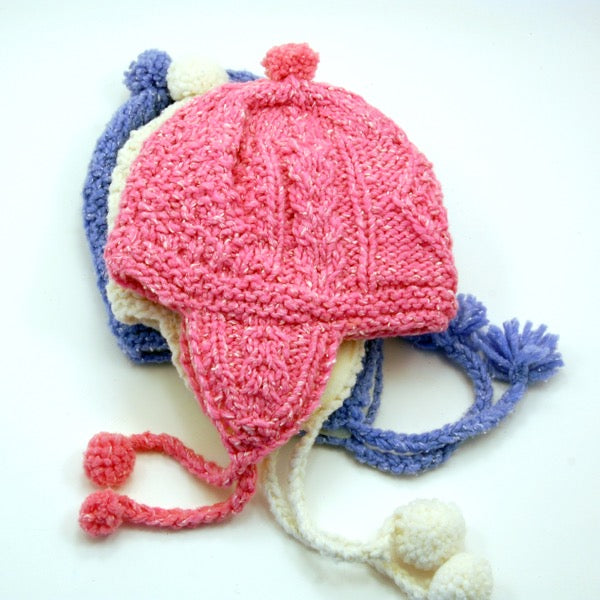 Cable Hat (kids) - Small Things Fair Trade