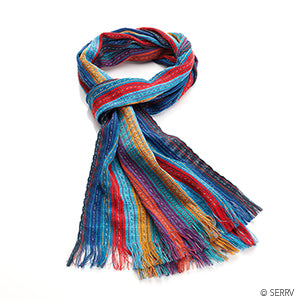 Bright Kaupushca Scarf - Small Things Fair Trade