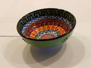 Turkish Ceramic Bowl - Medium - Small Things Fair Trade