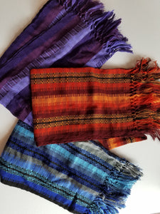 Multicolor Guatemalan Shawl - Small Things Fair Trade