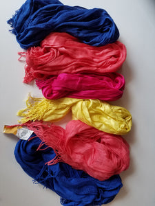 Colorful Cotton Scarf - Small Things Fair Trade