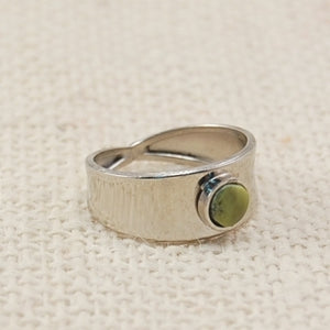Modern Stone Ring - Small Things Fair Trade