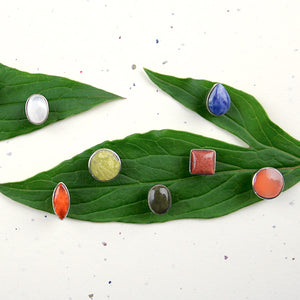 Fiori Stud Earrings - Small Things Fair Trade