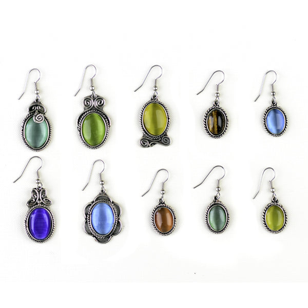 Cat's Eye Earrings - Small Things Fair Trade