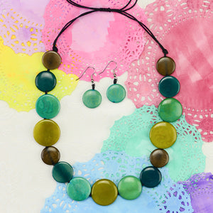 Bubble Necklace and Earring Set - Small Things Fair Trade