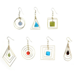 Suspended Form Earrings