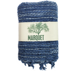 Free Weave Scarf - Blue Fusion - Small Things Fair Trade