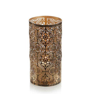 Large Golden Festival Candle Holder - Small Things Fair Trade