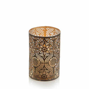Medium Golden Festival Candle Holder - Small Things Fair Trade