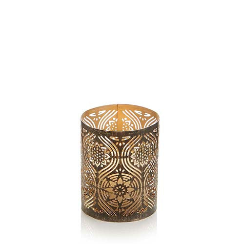 Small Golden Festival Candle Holder - Small Things Fair Trade