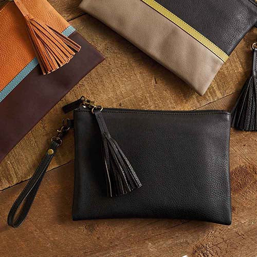 Signature Clutch - Black - Small Things Fair Trade