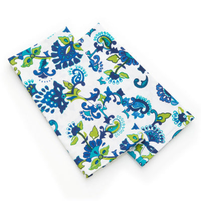 Monsoon Floral Napkins- Set of Two - Small Things Fair Trade