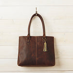 Rustic Leather Bag - Small Things Fair Trade