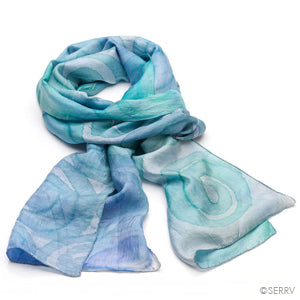 Blue GoGo Scarf - Small Things Fair Trade