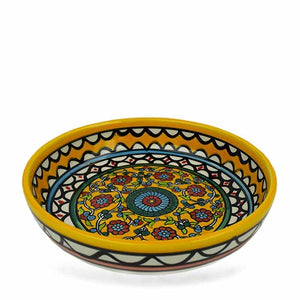 Large Yellow West Bank Bowl - Small Things Fair Trade