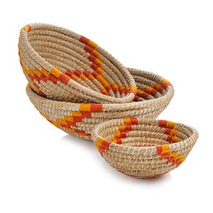 Baskets - Ring of Fire (Set of 3) - Small Things Fair Trade